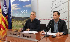 Presentación de Ibiza Sostenible en el Consell d'Eivissassa