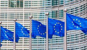 Unión Europea normativa banderas