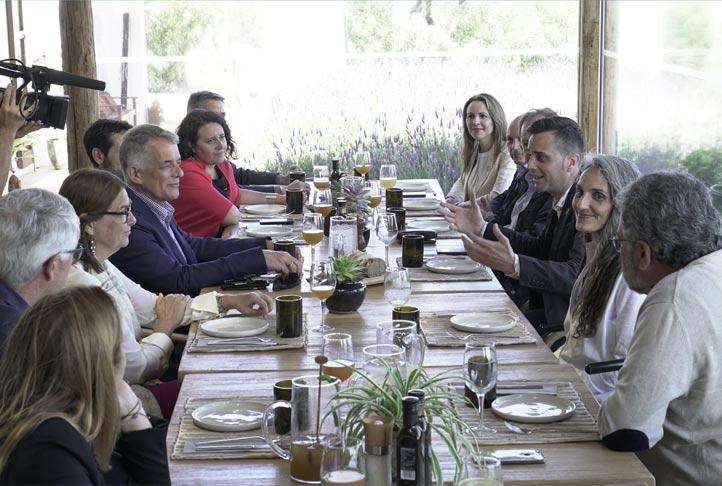 Miembros del Hospitality Inspiration Council reunidos