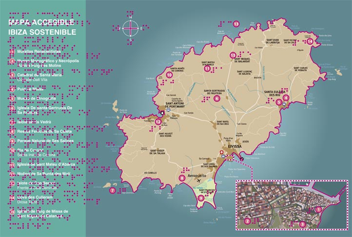 Ibiza Accesible anverso