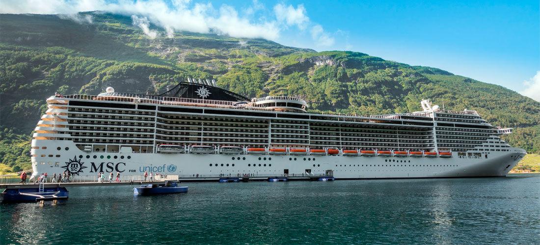 El crucero MSC Fantasy muestra en Ibiza como ser más sostenibles