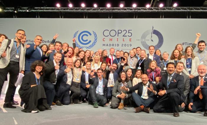 """Participación COP25 - Cumbre del Clima """"Tiempo de actuar"""""""