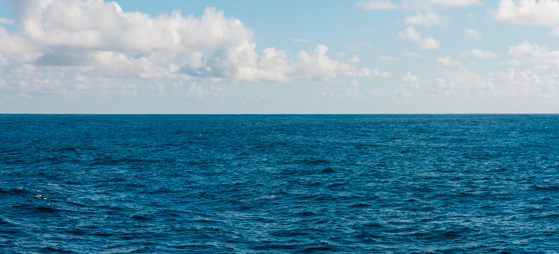 Imagen del Mar Mediterráneo en calma